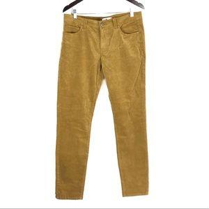 Cabi 3197 Umber Corduroy Stretchy Skinny Jeans